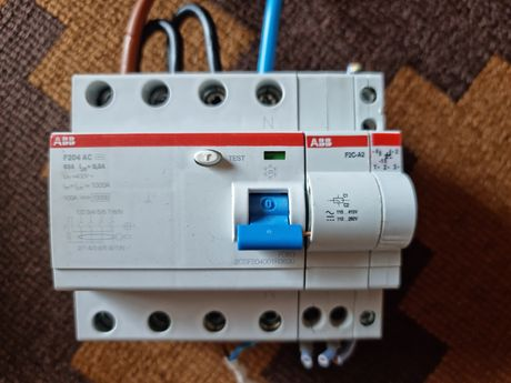 Bloco Interruptor diferencial 100 A 300mA