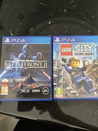 Lego city tajny agent ps 4 / battlefront 2 ps 4