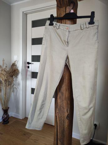 Beżowe spodnie New Look 7/8