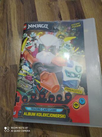 Sprzedam karty lego ninjago album