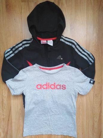 Bluza i bluzka 116 cm, Adidas