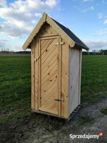Toaleta ogrodowa drewniana WC JODEŁKA