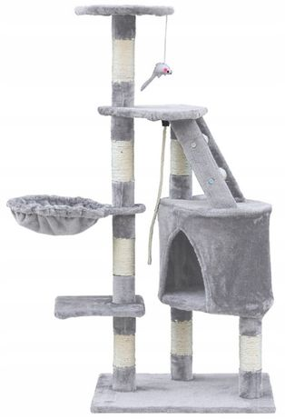 Drapak dla kota domek sznur wieża