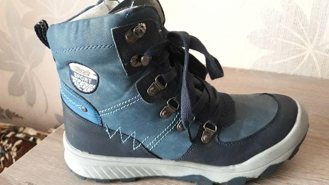 Ботинки кожа зимние