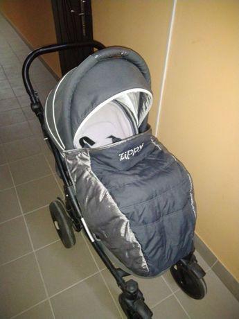 Дитячий візок/коляска tutis zippy silver plus 2в1