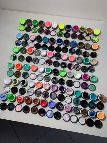 Kit cores Gel Fluxnails (Unhas Gel, Verniz Gel, Acrilico)