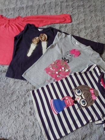 bluzka, rozne wzory, bluzeczka na długi rękaw