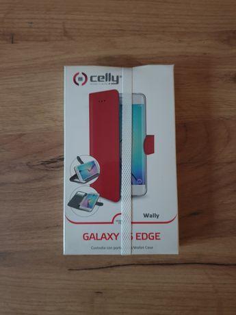 Etui na telefon Samsung Galaxy 6 Edge Czerwone celly