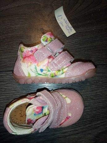 Buty skórzane rozmiar 18 dziewczęce