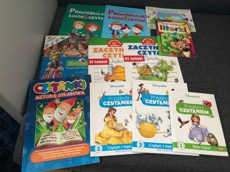 11 książeczek do nauki czytania oraz pisania