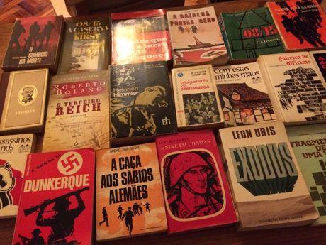 2 ª Guerra Mundial, muitos romances, preço por livro, ofereço portes