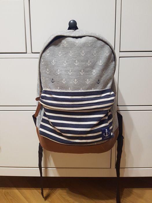 Рюкзак с якорями и вставками из кожзама Харьков - изображение 1