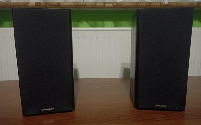 Kolumny głośnikowe 2-drożne Pioneer S-HM30 czarne drewniane
