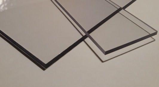 Płyty - poliwęglan lity 4 mm opal - 2,05x3,05 m 2xUV -szkło bezpieczne