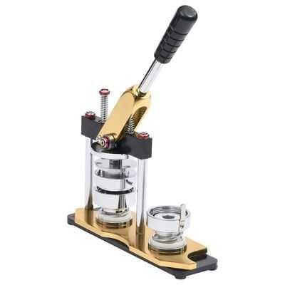 Máquina de fazer crachás com cortador e 100 conjuntos 37mm