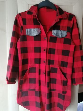 Koszula w kratę L/Xl