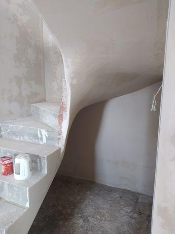 Tynki gipsowe i cementowe
