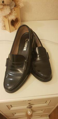 Чоловічі шкіряні туфлі Lester