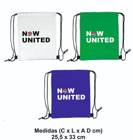 Sacos de desporto now United regresso a escola