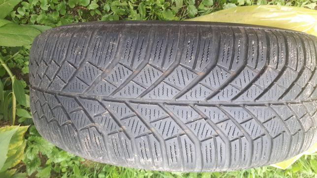 Opony 6 mm 205/55/16 2x Pirelli, 2x Continental ZIMA