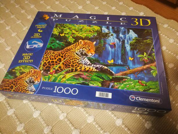 Puzzle 3D de 1000 peças