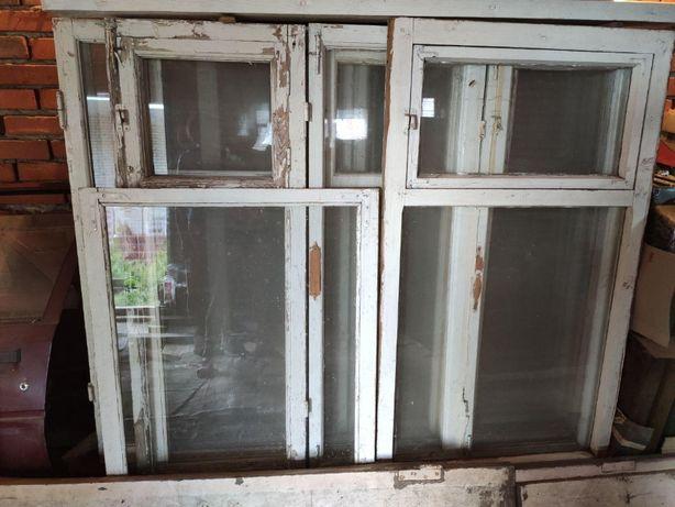 Продам старые деревянные окна