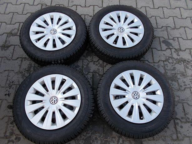 Opony zimowe z felgami 5x112 6Jx15 ET43 VW, AUDI ,SEAT (K7)