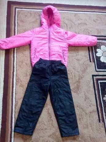 Костюм демисезонный куртка штаны 104-110
