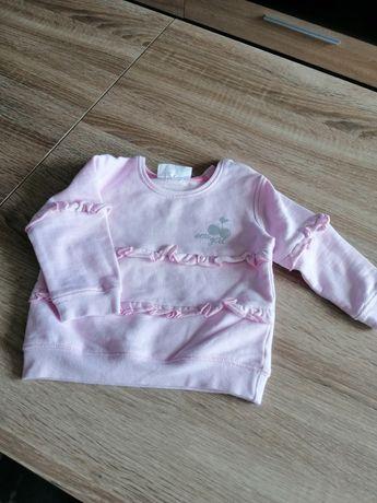 Bluza w kolorze pudrowego różu