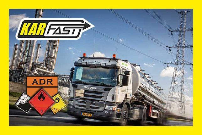 Kurs ADR przewóz towarów niebezpiecznych