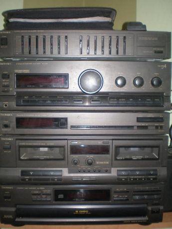 technics, wieża audio, kino domowe, kolumny, soundbar