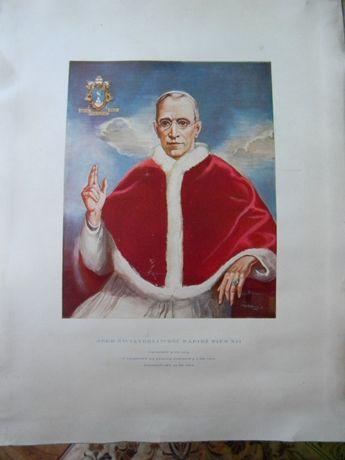 Papież Pius XII i Jan XXIII obrazki