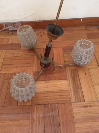 Globos de candeeiro em vidro