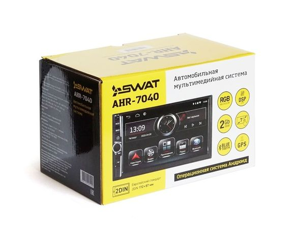 Магнитола 2DIN SWAT AHR-7040 с DSP Lite процессором звука