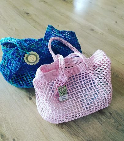 Пляжные сумки ручной работы
