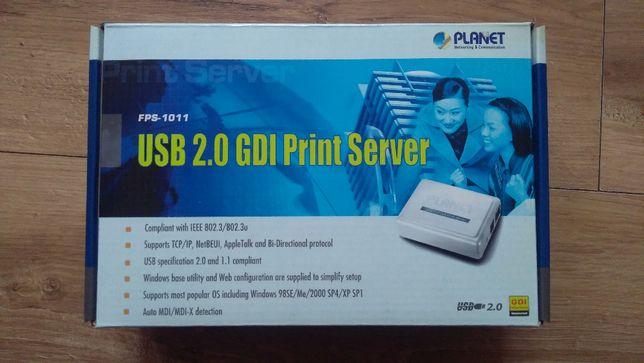 Print Server USB 2.0 GDI Planet FPS-1011