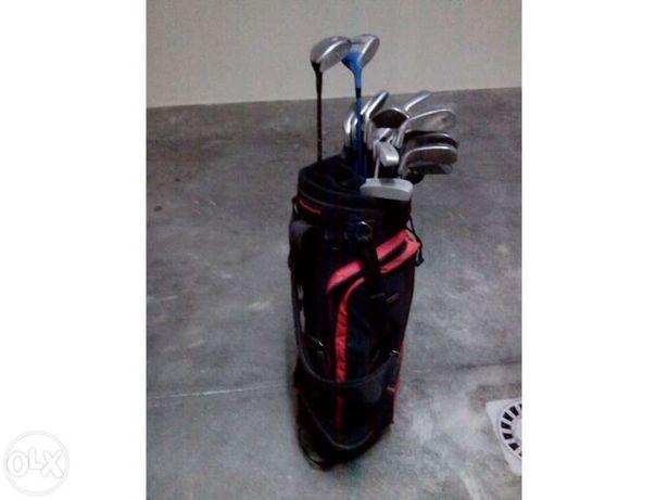 Conjunto de tacos de golf e saco howson