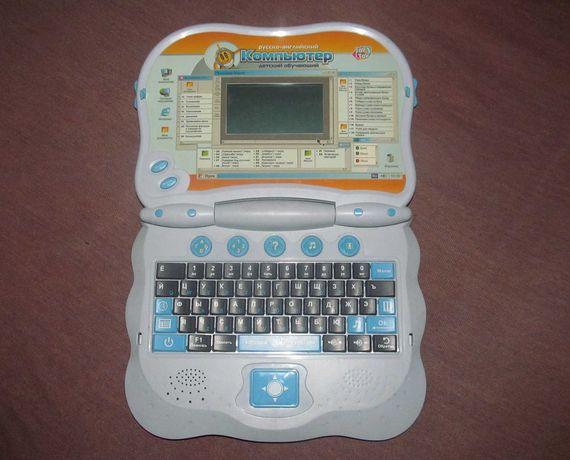 Русско-английский детский обучающий компьютер (ноутбук) JoyToy 7000