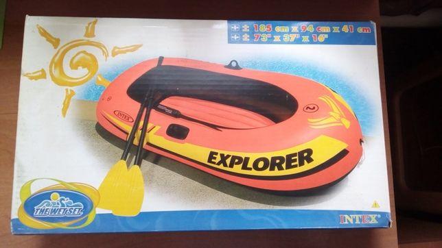 Intex надувная лодка