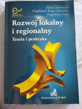 Książka Rozwój lokalny i regionalny