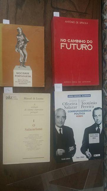 Salazar correspondência, o salazarismo, mocidade portuguesa
