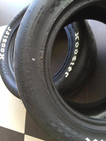 Pneus 225 -50/15 Hoosier drag racing slicks frent traz