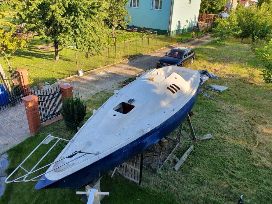 Jacht kilowy kabinowy 7 osobowy 7,5m KIL 1,2m bez patentu Warszawa - image 1