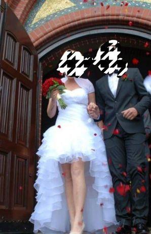 Suknia ślubna regulowana 38-42