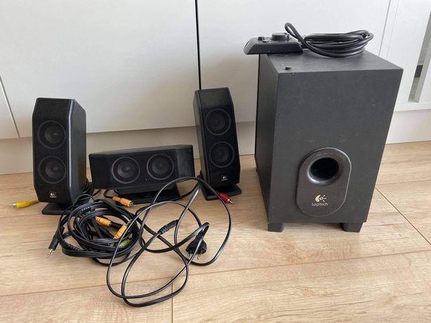Głośniki Logitech z subwooferem - zestaw