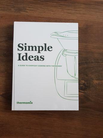 Książka do termomiksa Simple ideas. Po angielsku