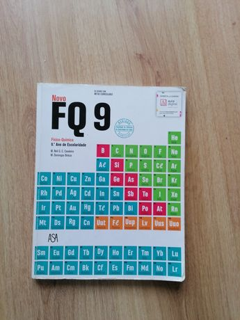 FQ 9 livro de físico química 9 °ano