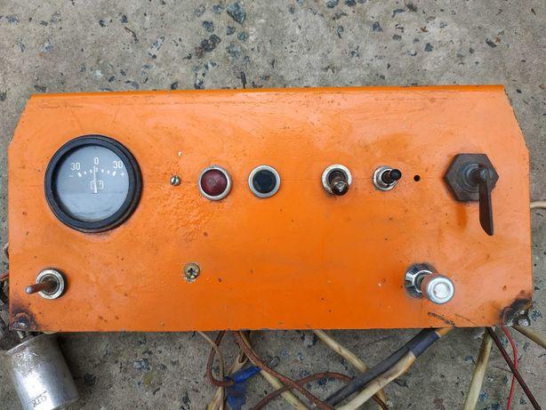 Приборка (приборная панель) для самодельного трактора