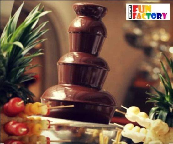 Fontanna czekoladowa z belgijską czekoladą oraz inne atrakcje dla dzie
