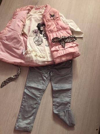 Комплект костюм для девочки тройка bebus zara 3 года